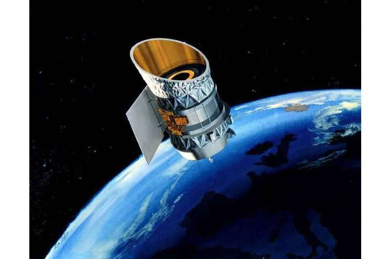 The Infrared Astronomical Satellites (IRAS) space telescope was launched in 1983 as a joint project of NASA, Great Britain, and
