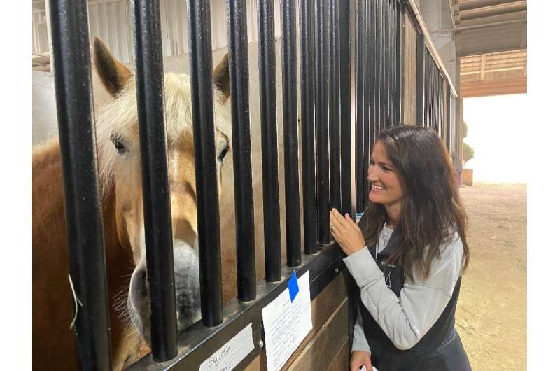 The Mount Hood Center in Oregon threw open its doors to animals displaced by raging forest fires