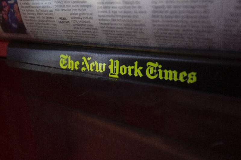 The New York Times said it added one million digital subscribers in 2019 and now has more than five million subscriptions includ