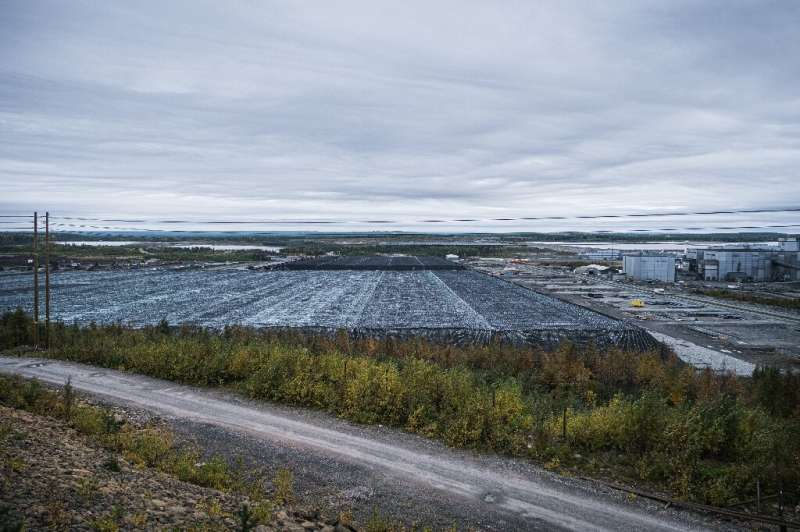 The process to extract nickel and cobalt involves lots of water which activists worry poses a risk to the environment. It isn't