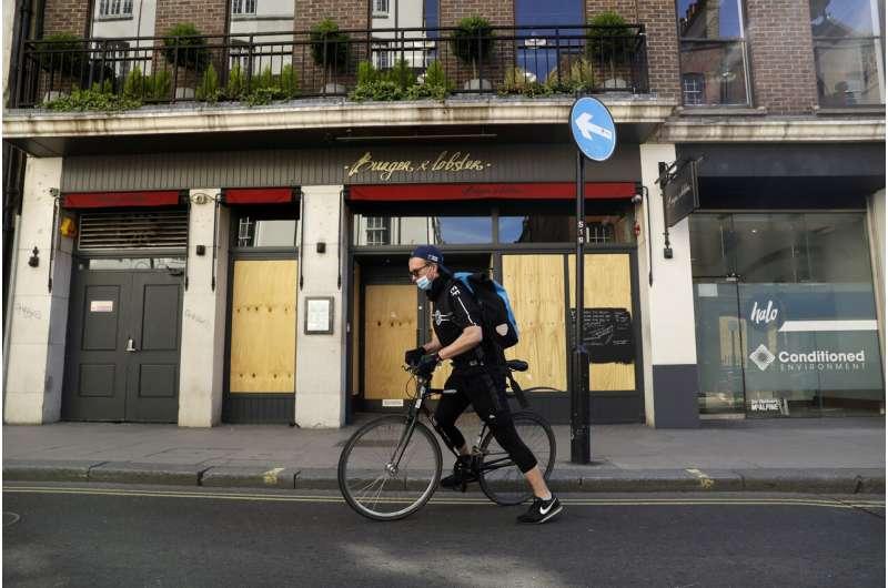 These coronavirus 'carriers' take test samples around London