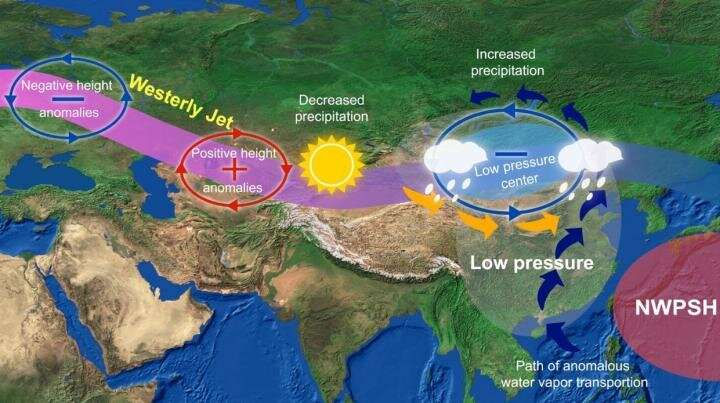 The spatial consistency of summer rainfall variability between the Mongolian Plateau and North China