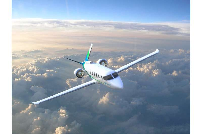 The startup Zunum Aero, which is partly financed by US aeronautics group Boeing, is working to bring a hybrid plane to the marke