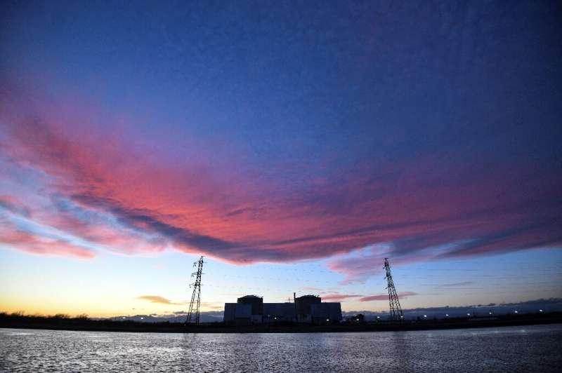 The sun is setting on the Fessenheim nuclear powerplant