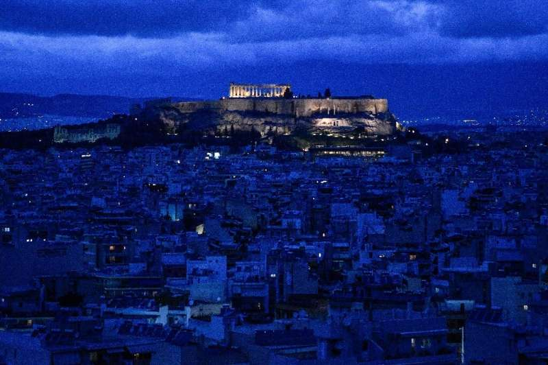The tourism collapse due to the coronavirus pandemic has left a huge hole in the Greek economy which had been recovering from a