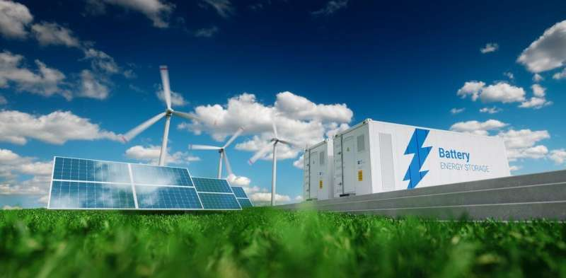 The UK plans to build huge batteries to store renewable energy – but there's a much cheaper solution
