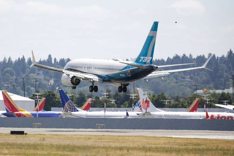 The US Federal Aviation Administration completed test flights of the Boeing 737 MAX, which was grounded after two deadly crashes