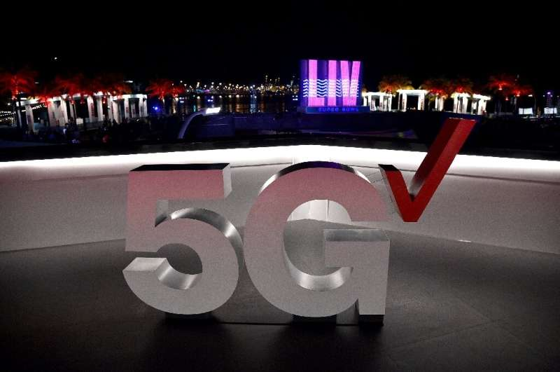 The Verizon 5G Stadium at Super Bowl LIVE on January 30, 2020 in Miami, Florida: Verizon was the top bidder for US 5G bandwith,