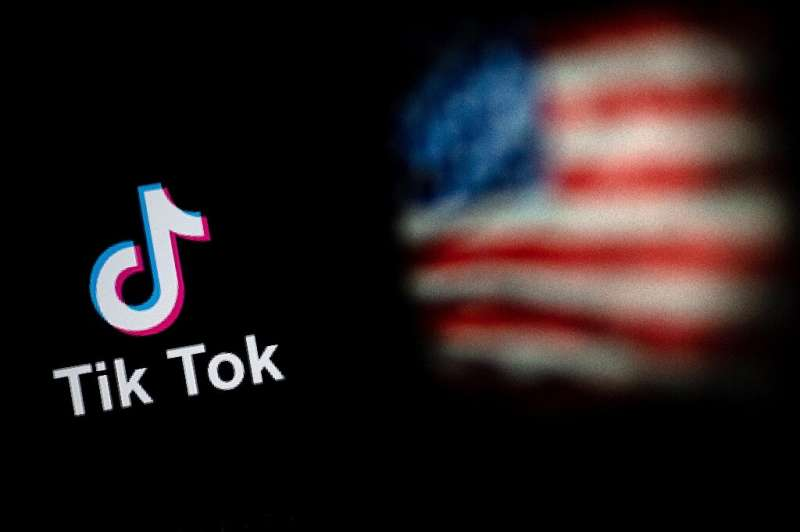 The White House claims TikTok is a national security risk because of potential links to the Beijing government through its Chine