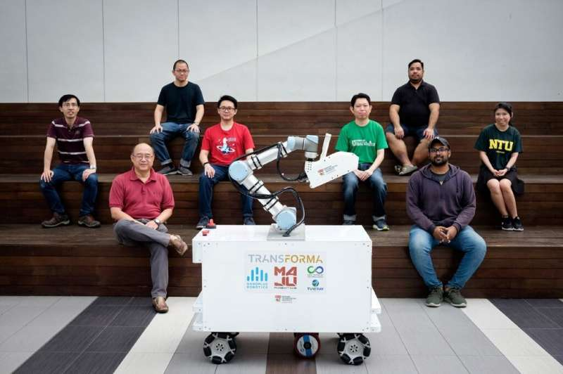 The XDBOT has been trialled on the Nanyang Technological University campus, and its creators hope to test it in more public area
