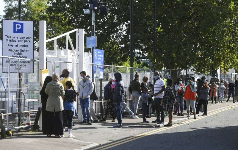 'This is a big moment:' UK virus restrictions escalating
