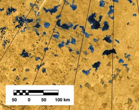 Titan's lakes can stratify like those on Earth