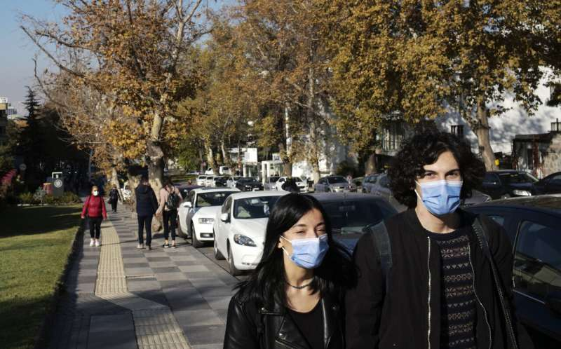Turkey's COVID-19 deaths returns to April levels
