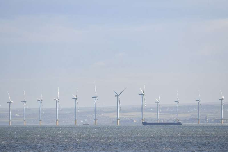 Two projects under development off the coast of Britain will compete for the title of largest offshore wind turbine field in the