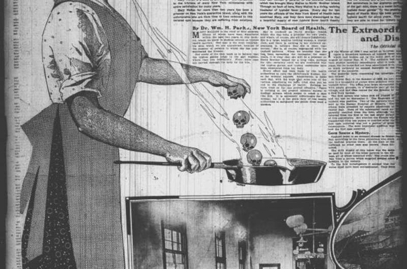 Typhoid Mary was a maligned immigrant who got a bum rap
