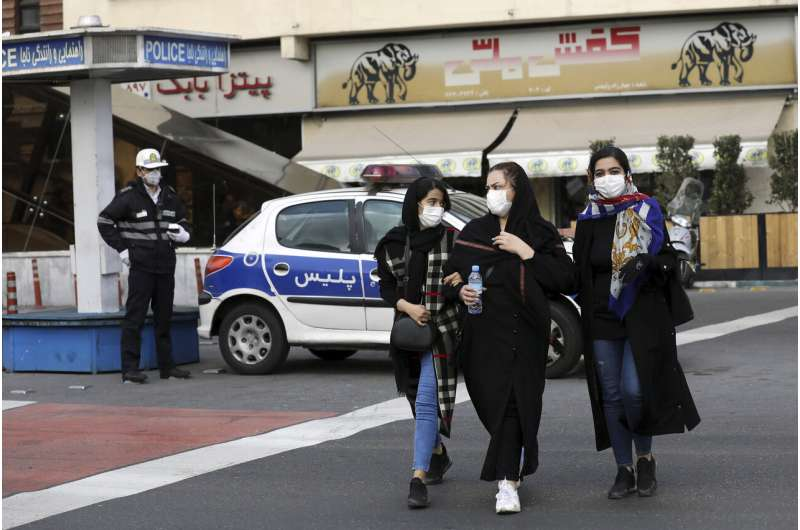 UAE limits flights to Iran from Dubai over virus outbreak
