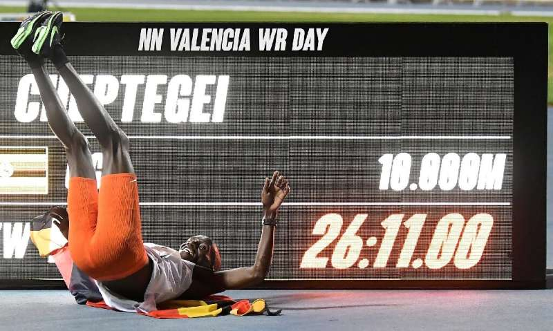 Uganda's Joshua Cheptegei beat the men's 10,000m world record previously set in 2005 by Kenenisa Bekele by an astonishing six se