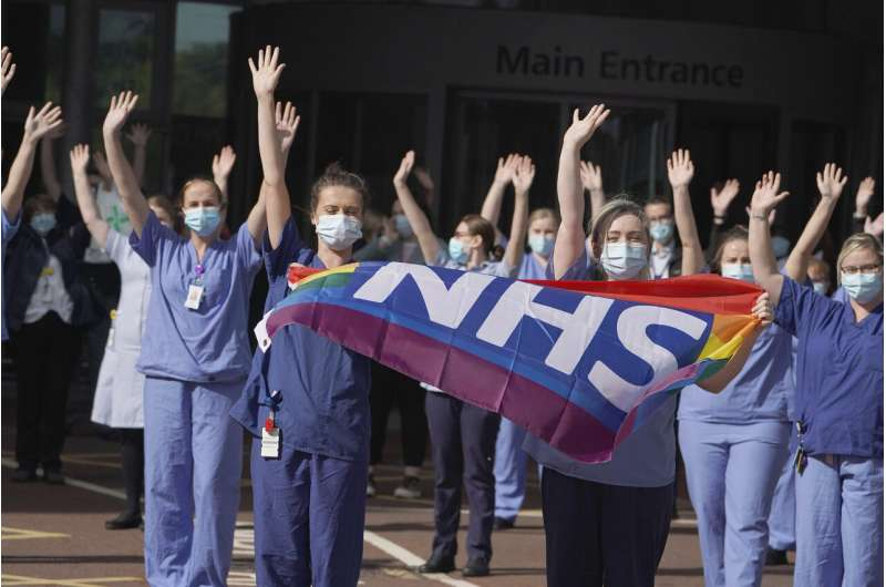 UK pays tribute to National Health Service on 72nd birthday