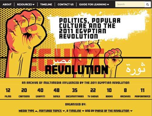 Unique digital archive of the 2011 Egyptian Revolution now online