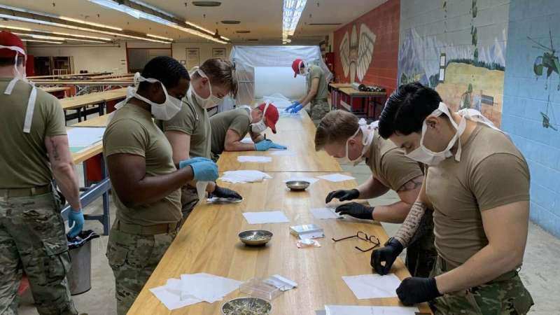 University, Army collaborate on face masks for soldiers