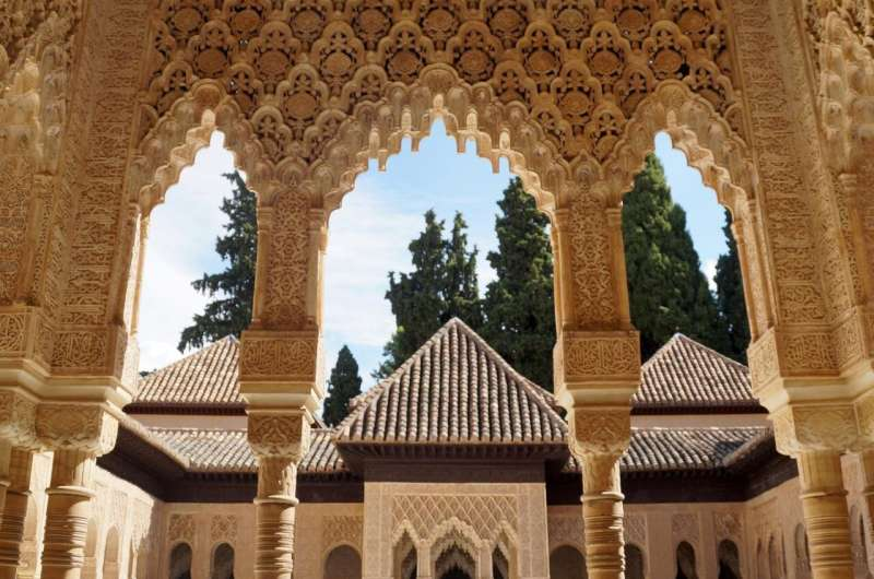 Unknown details identified in the Lions' Courtyard at the Alhambra