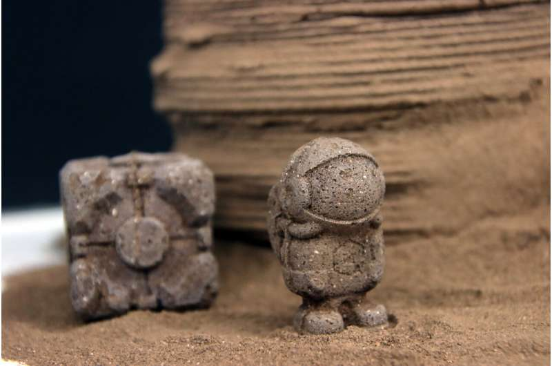 Using chitin, a bioinspired material, to manufacture tools and shelters on Mars