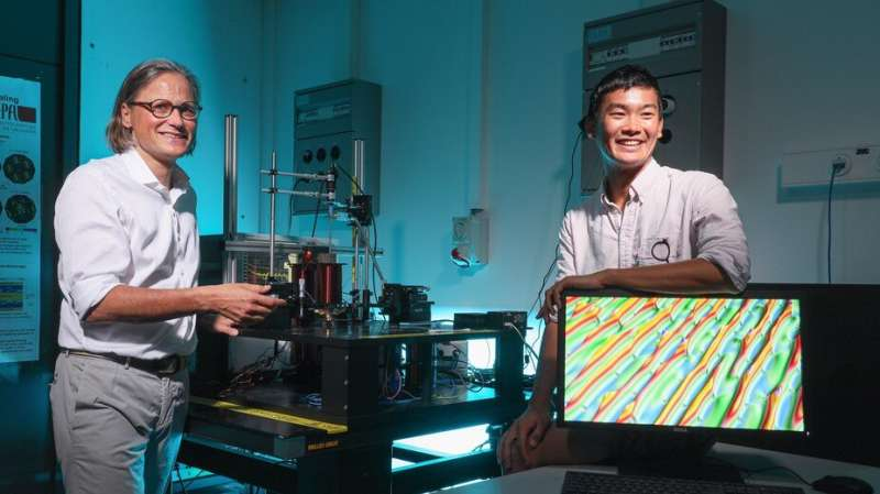 Using magnetic worms to engineer nanoscale communication systems
