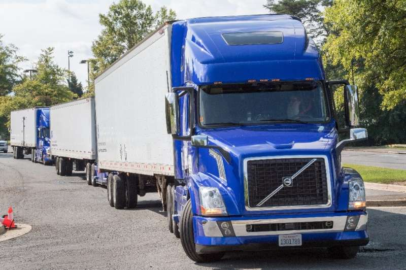 Using no-emmission hydrogen batteries on trucks would take polluting diesel vehicles off the roads