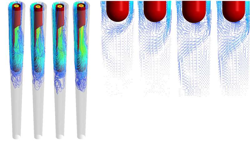 Using physics to improve root canal efficiency