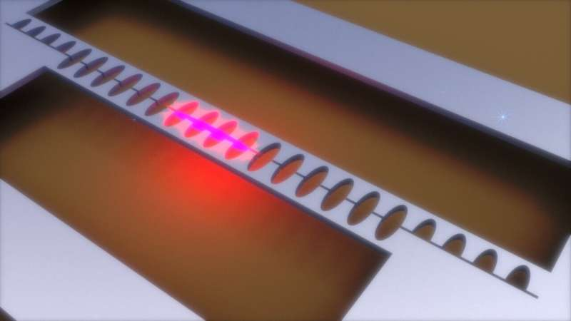 Vibrations on a chip feel a magnetic field