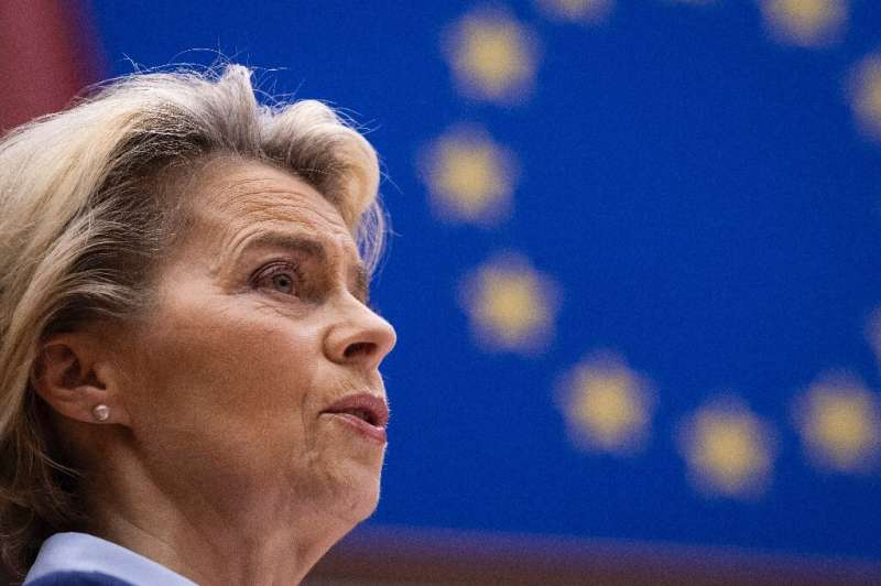 Von der Leyen said there were enough doses for everyone in Europe