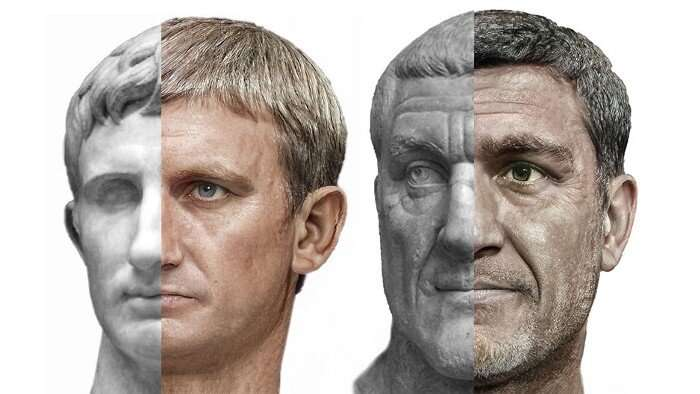 VR specialist in the movie industry passes time by creating photorealistic images of Roman emperors