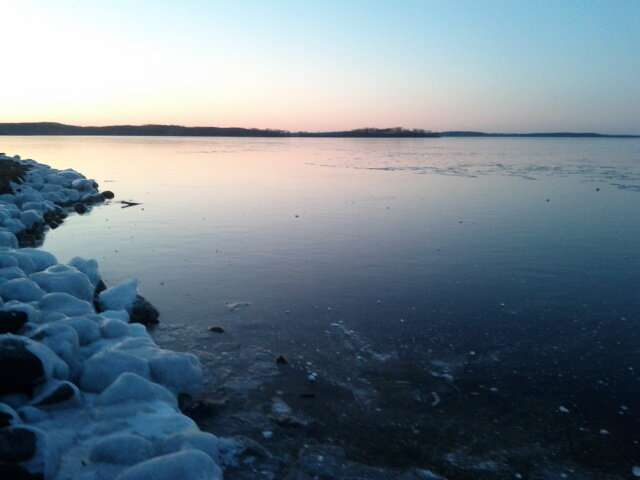 Warmer winters are keeping some lakes from freezing