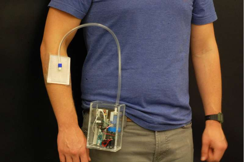 Wearable, portable invention offers options for treating antibiotic-resistant infections