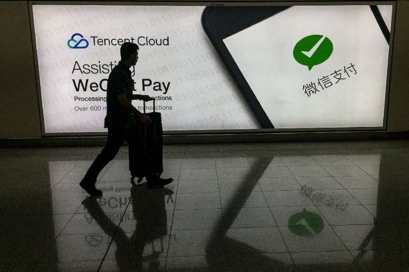 WeChat is used for everything from messaging to ride-hailing and mobile payments