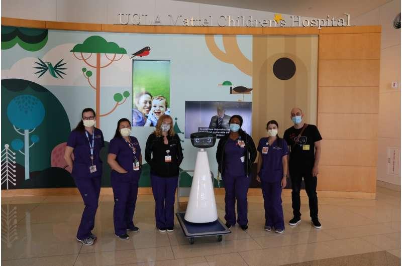 Welcome, Robin the AI robot