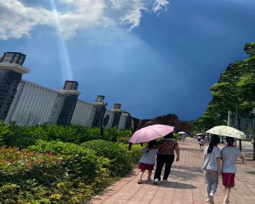 What has caused more extreme summer heat events over northeast Asia?