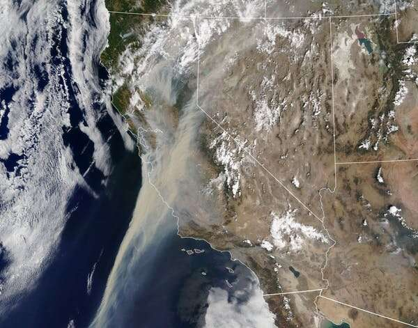What's in that wildfire smoke, and why is it so bad for your lungs?