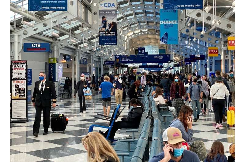 While Americans have tentatively resumed flying for leisure travel, business trips collapsed by as much as 90 percent during the
