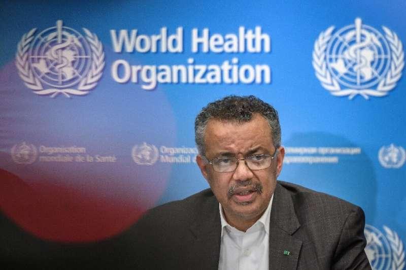 "WHO chief Tedros Adhanom Ghebreyesus said the world has a ""window of opportunity"" to halt the spread of the coronaviru"