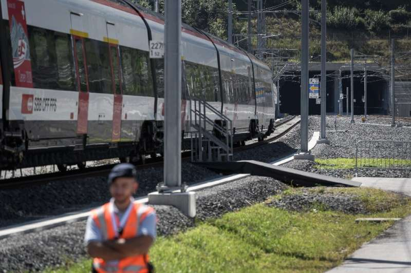 With the Ceneri tunnel open the new rail route through the Alps is finally complete