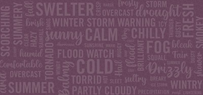 Word choice matters in weather communications