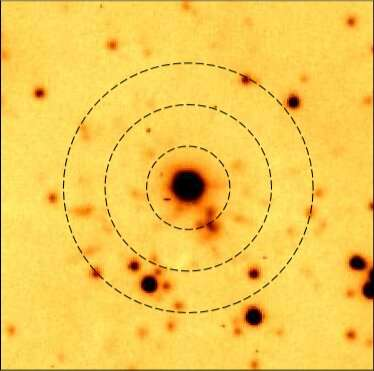 WR 72 is a planetary nebula with hydrogen-poor knots, study finds