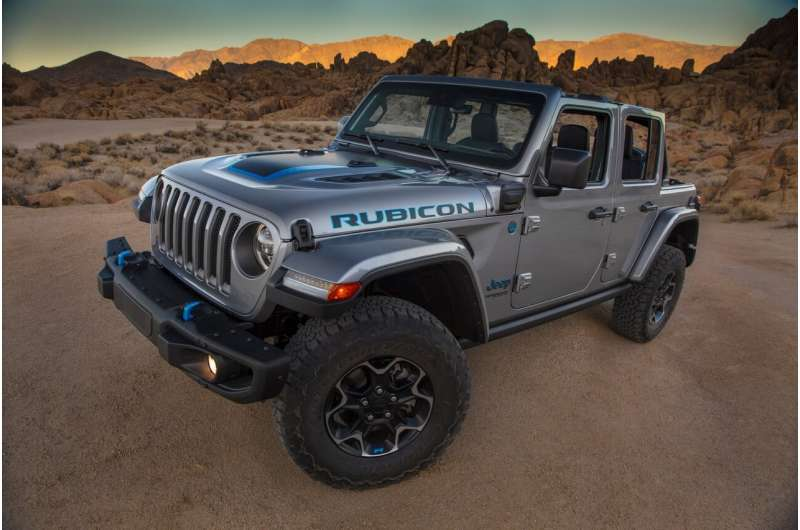Wrangler introduces Jeep's first electric-powered vehicle