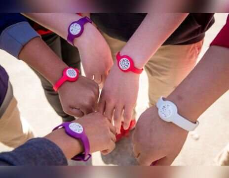 Wristband monitors personal exposure to air pollution