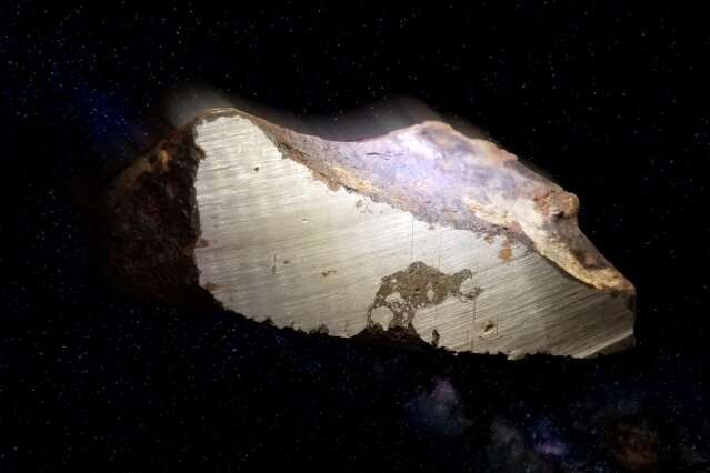 X-rays recount origin of oddball meteorites