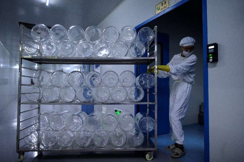 Yisheng Biopharma has converted one of its nine workshops into a COVID-19 vaccine production line