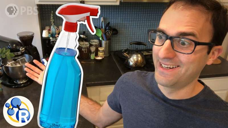 You're using disinfectants wrong. Here's what you actually need to do (video)