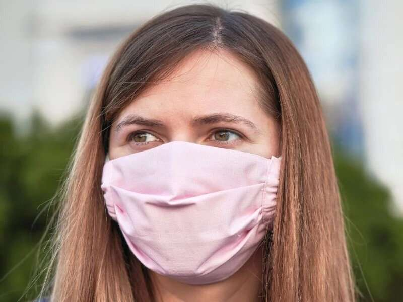 You're wearing a face mask -- are you wearing it correctly?