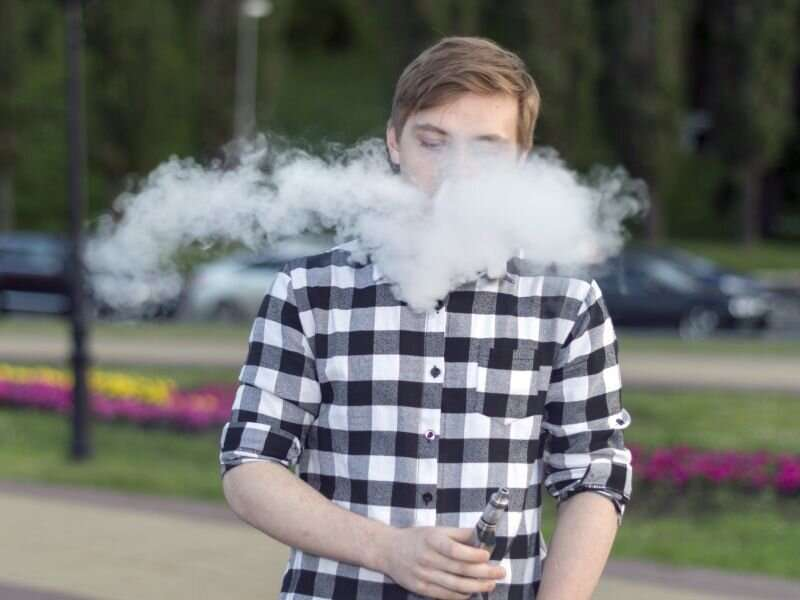 Youth vaping rates have plunged during lockdown: study
